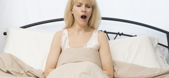 Menopause and insomnia make women age faster
