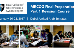 26-28 January 2017 – RCOG MRCOG Final Preparation: Part 1 Revision Course; Dubai