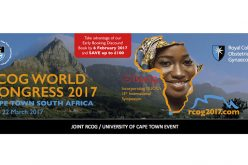 20–22 March 2017 – RCOG World Congress 2017; Cape Town, South Africa