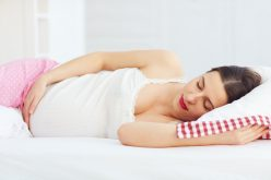 Sleep on your side, not your back in late pregnancy