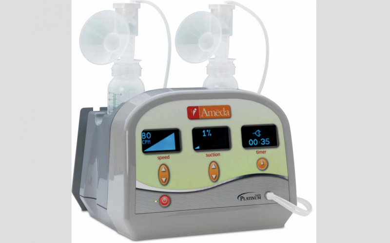 Ameda Platinum breast pumps available from Central Medical Supplies