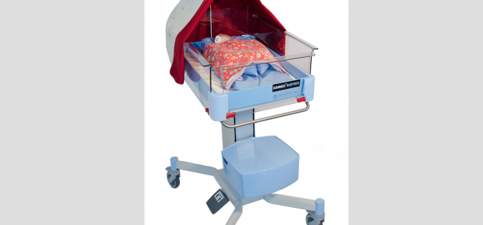 Central Medical Supplies offers Kanmed BabyBed with and without rails