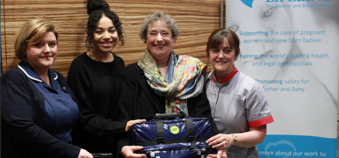 Baby Lifeline launches national community midwives' bags