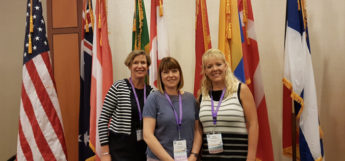 International research involving student midwives at Keele presented in Washington DC