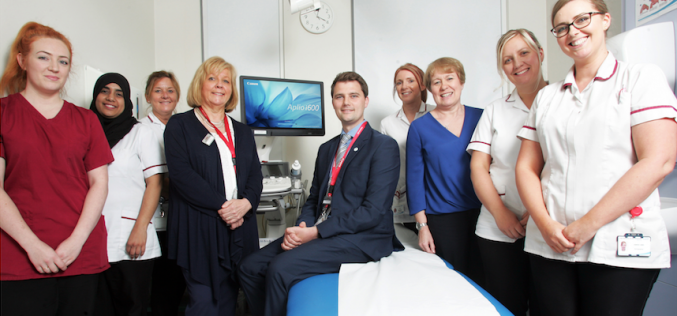 Micro-vascular ultrasound imaging for obs & gynae introduced at  Pennine Acute Hospitals NHS Trust