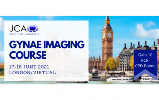 17-18 June 2021, Gynae Imaging Course; London and virtually