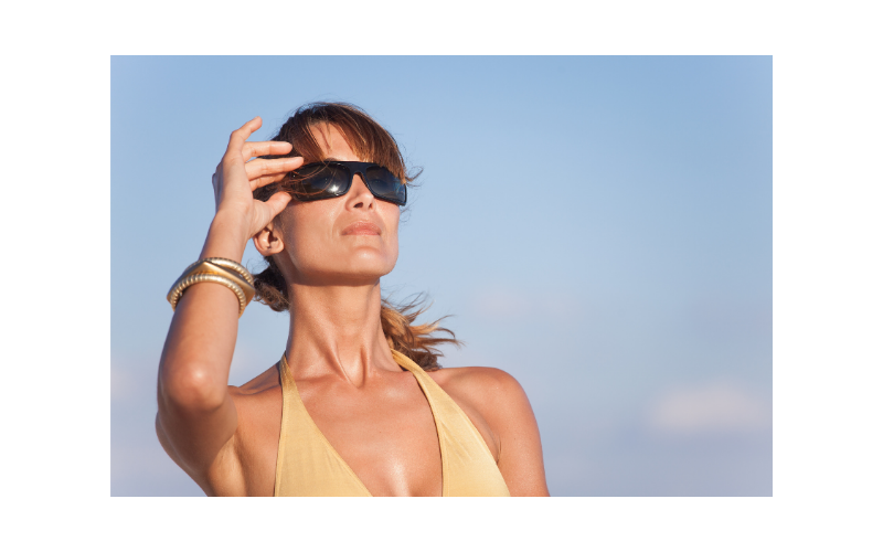 Sunbathing after menopause may be harmful
