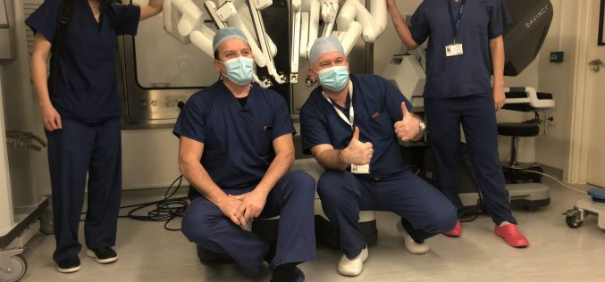 HCA Healthcare UK becomes first hospital group to train a robotic surgeon in the independent sector
